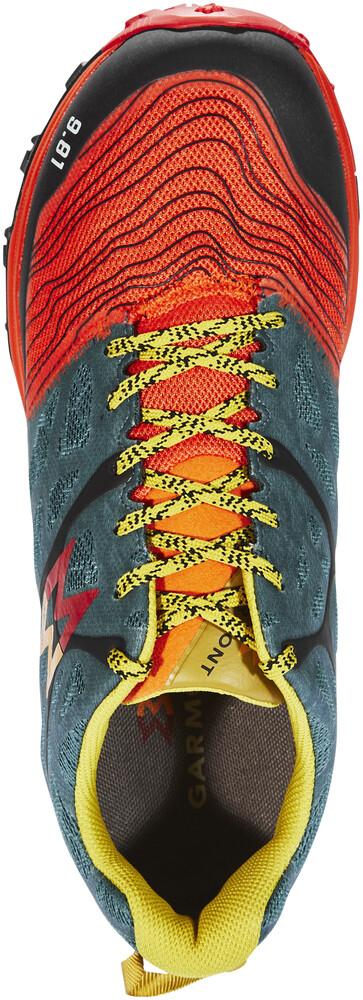 Garmont 9.81 Grid - Calzado Hombre - verde/naranja UK 7  45 1/3 EU amazon-shoes el-gris Cordones ajuDK2Nlko